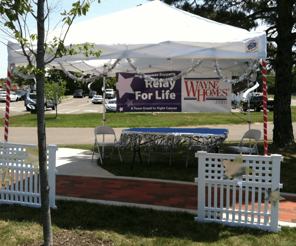 Ohio On Your Lot Builder Wayne Homes at Relay for Life Event