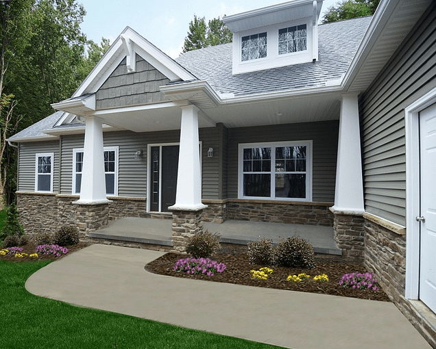 Ohio custom ranch style floor plan by Wayne Homes