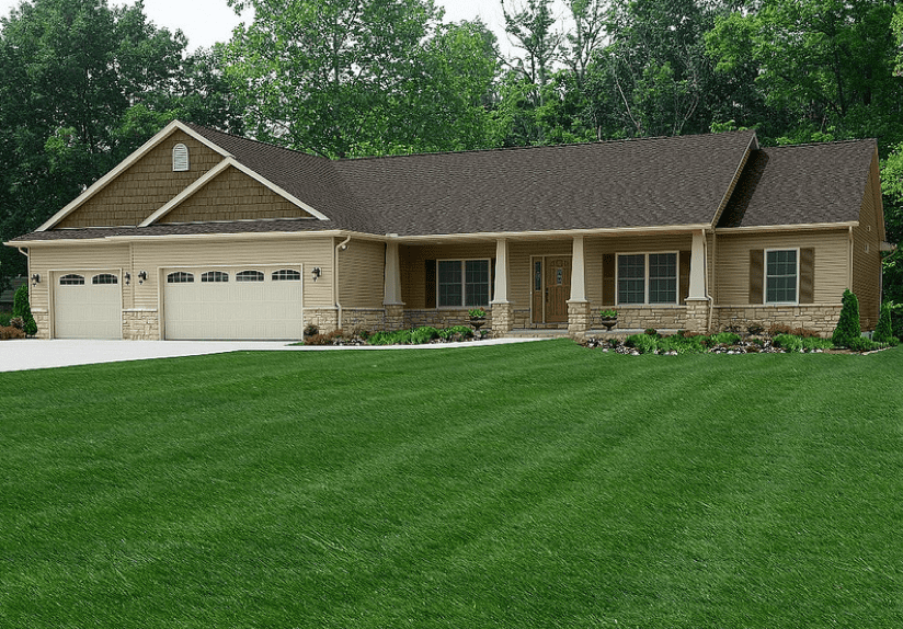 The Montgomery Ranch Style Custom Home Floor Plan by Wayne Homes