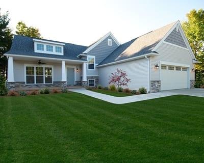 9 popular craftsman style custom home floor plans wayne for Craftsman style split level homes
