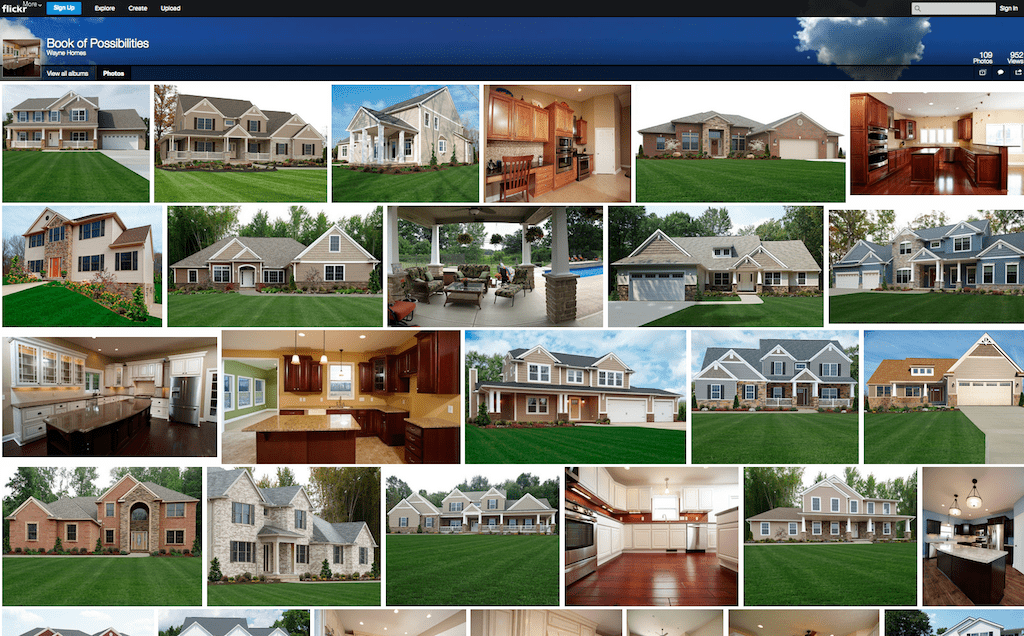The Wayne Homes Flickr Page – Your Source for Inspiration