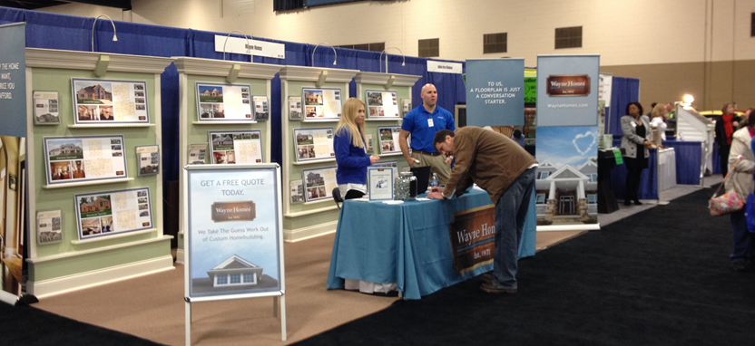 See Wayne Homes at Local Home & Garden Shows in 2015