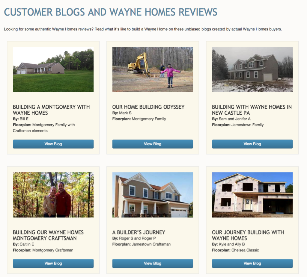 Get to Know Wayne Homes