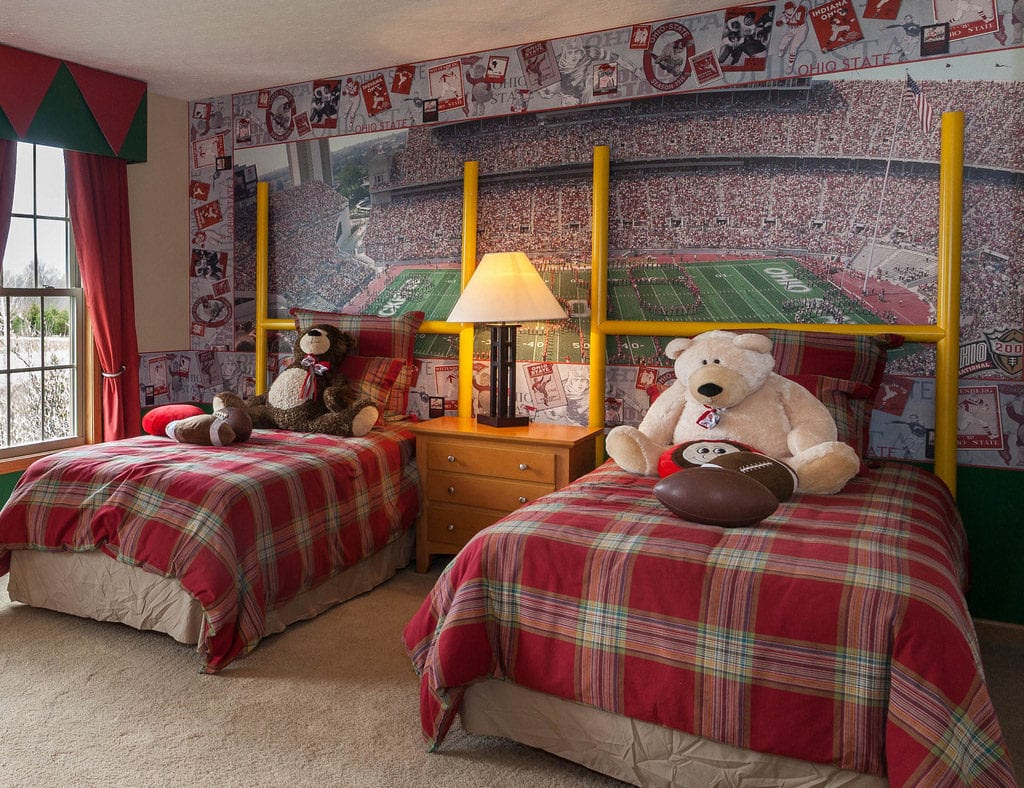 Hit a Homerun with a Sports-Themed Bedroom