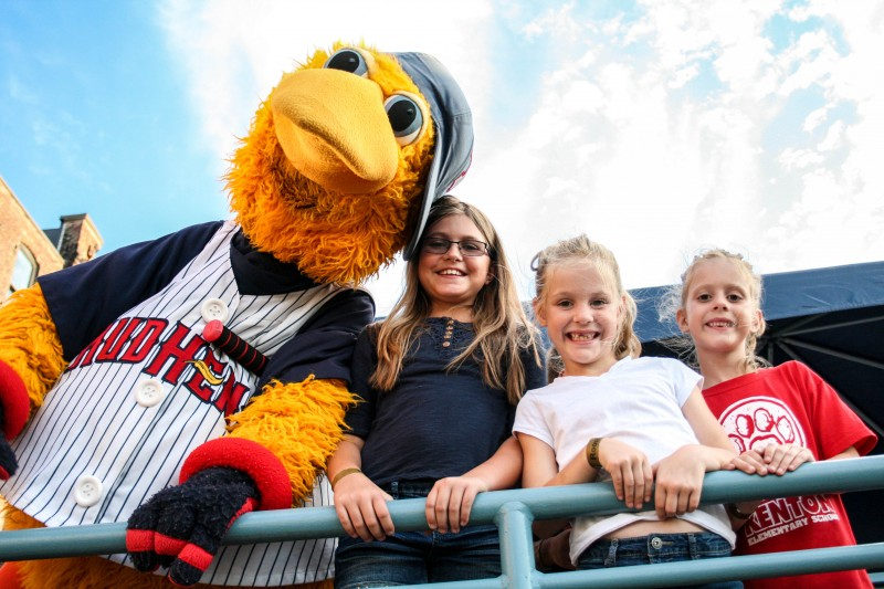 Fun at the annual Mud Hens Raving Fan event